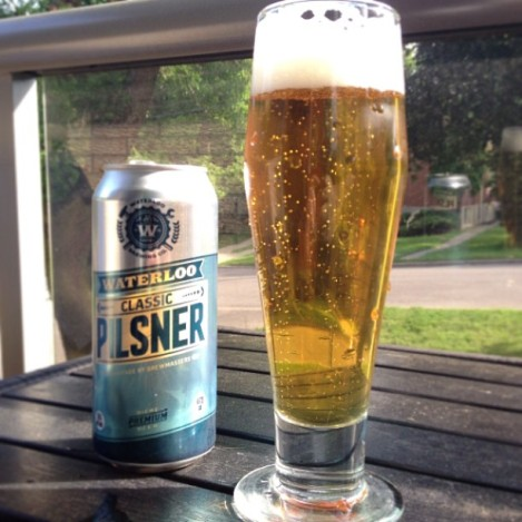 Classic Pilsner by Waterloo Brewing Co.